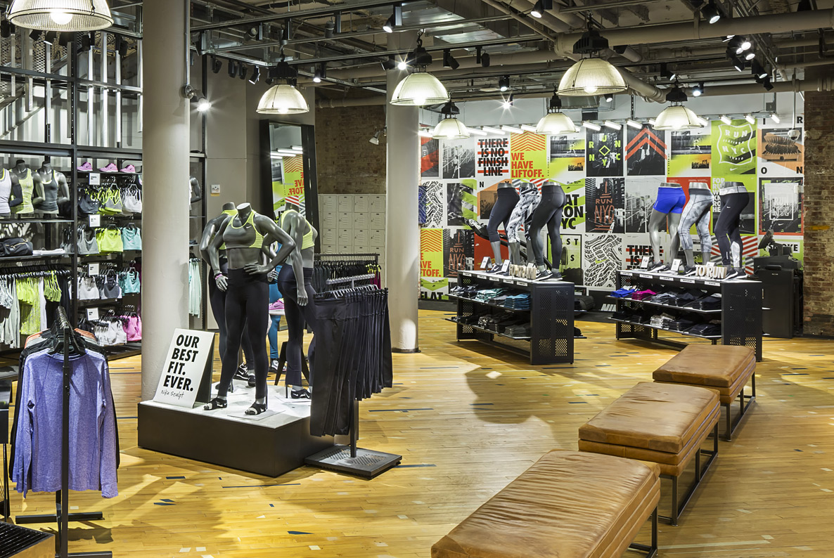 Nike Factory Outlet Center is the latest retailer to sign on to be part of New York City's first outlet center. Nike Factory Outlet Center is the latest retailer to sign on to be part of New York.